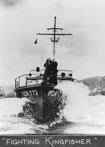 Kingfisher 1941: The Kingfisher on patrol during World War II.